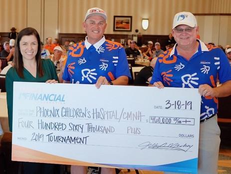 Desert Financial Foundation Raises $460,000 for Phoenix Children's Hospital Through Signature Golf T