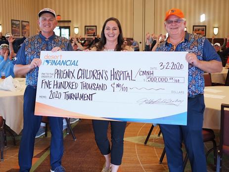 Desert Financial Foundation Raises $500,000 for Phoenix Children's Hospital Through Signature Golf T