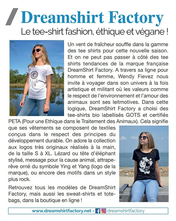 article de magazine Voici