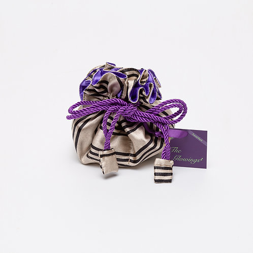 Jewelry Accessory Pouch with Multiple Pockets