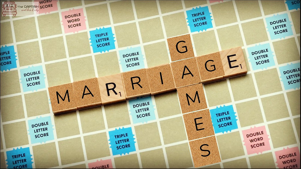 Marriage Games - the games we can sometimes play, but shouldn't...