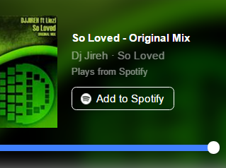 So Loved - Spotify