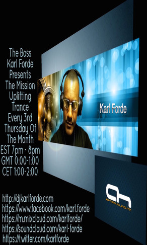 The Boss Karl Forde The Mission On AH.FM