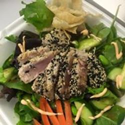 Seared Tuna over Salad