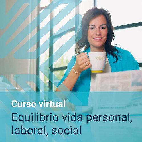 Curso virtual: Equilibrio vida personal,  laboral, social