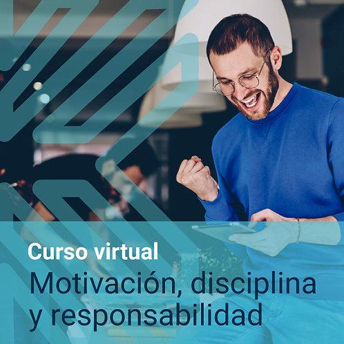 Curso virtual: Motivación, disciplina y responsabilidad