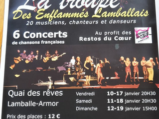 Concerts 2020 : dates et informations