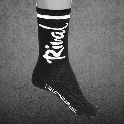 6in House Socks (Black)