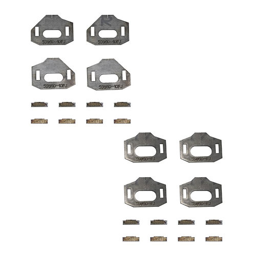 Tacoma/4Runner/FJ Total Chaos Lower Control Arm Cam Tab Gussets