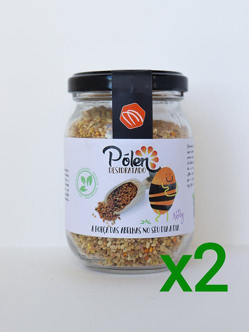Pólen Desidratado Beemagine - 2 potes de 160 g cada