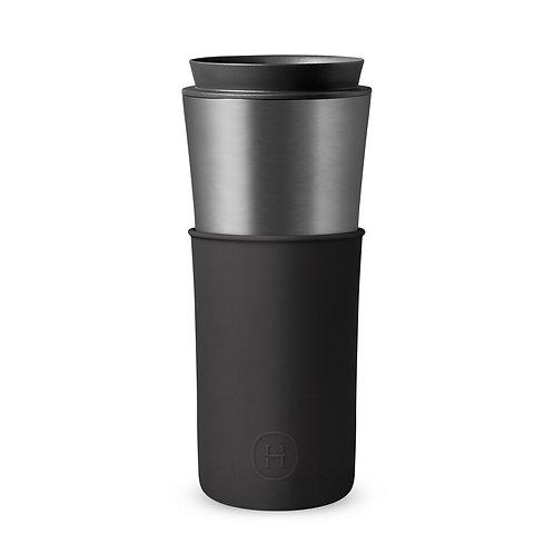 Taza de Viaje  – Titanio - Negro 450mL