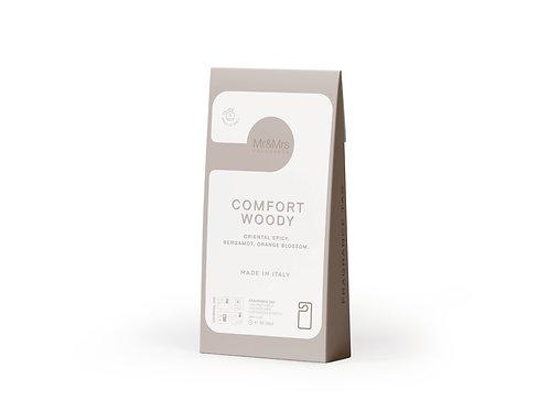 Арома-карточка для гардероба Miss Door бежевый COMFORT WOOD (Безмятежный лесной)
