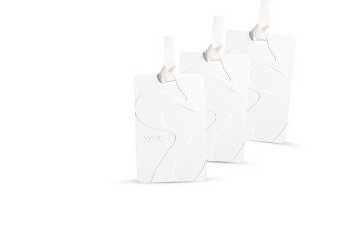Арома-карточки для гардероба Mr Drawers 3 шт белый WHITE LILY (Белая лилия)