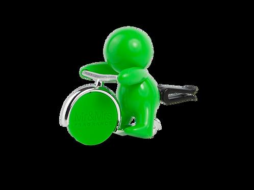 Ароматизатор для автомобиля GINO зеленый CITRUS (Цитрус)