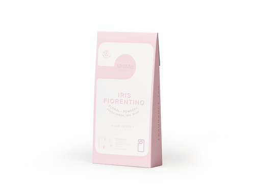 Арома-карточка для гардероба Miss Door розовая IRIS FIORENTINO (Флорент. ирис)