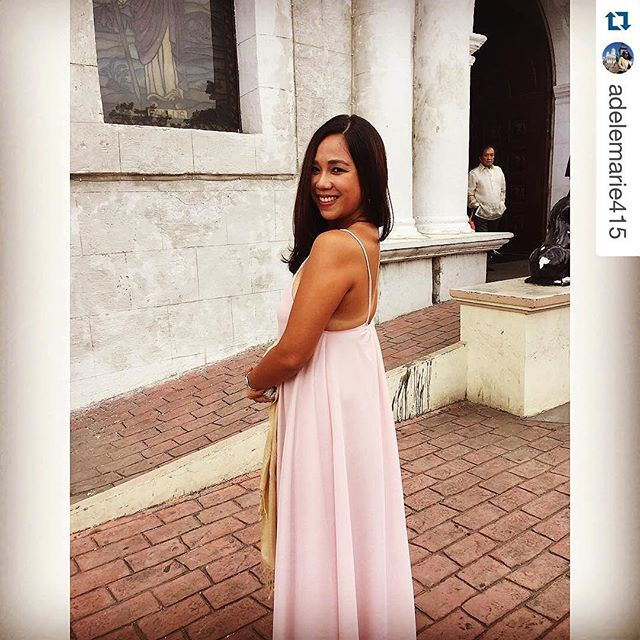 She's perfect in blush & tanlines 😍😍😍 thank you for tagging us _adelemarie415 , you look beautifu