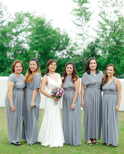 Gorgeous bridesmaids of _zitrocat wearing #infinitygownsbylovec. thank you Caryn for tagging us