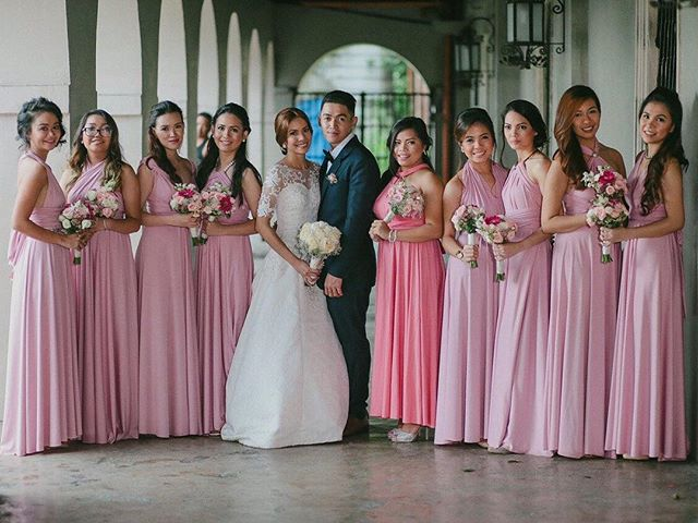 _sarahabigailyb and her lovely girls wearing custom love, C infinity gowns 😍 thank you dear, you lo