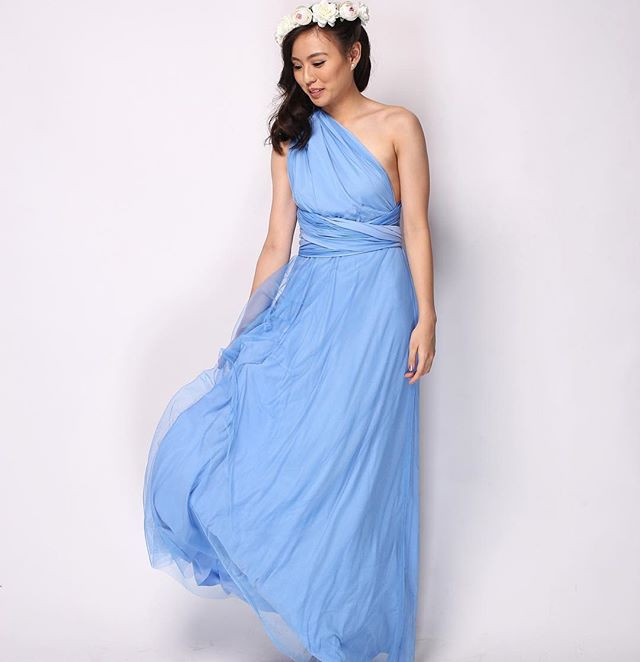 _trishauydy in our Infinity Gown with Tu