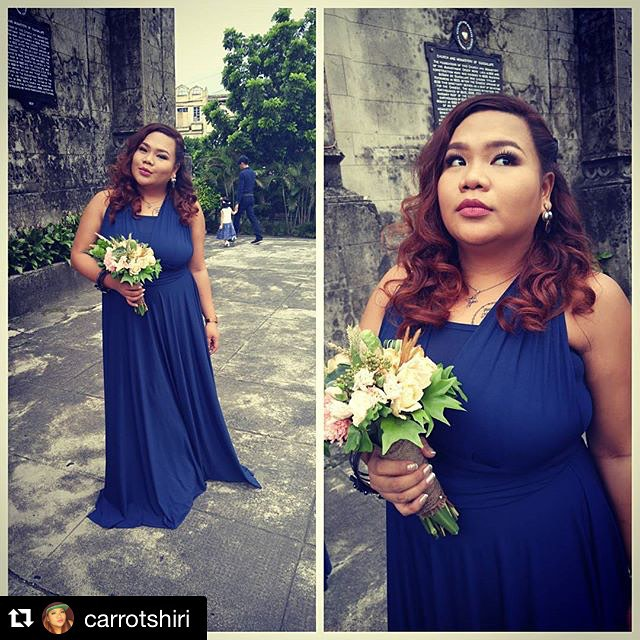 Oh my pretty Maid of Honor! Thank you girl. Ganda moooo! #lovecgirls 😘#Repost _carrotshiri with _re
