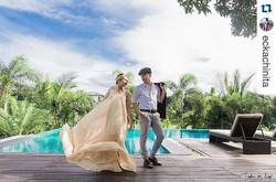 _eckachinita's fab prenup shoot 😍 (lovely bride-to-be wearing Lucia gown in nude)