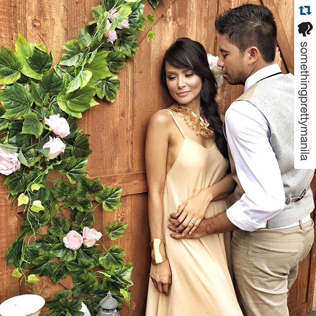 Ms. Wendy Valdez wearing Lucia sideboob dress on her prenup ❤️ #styledbymisskayce _misskayce
