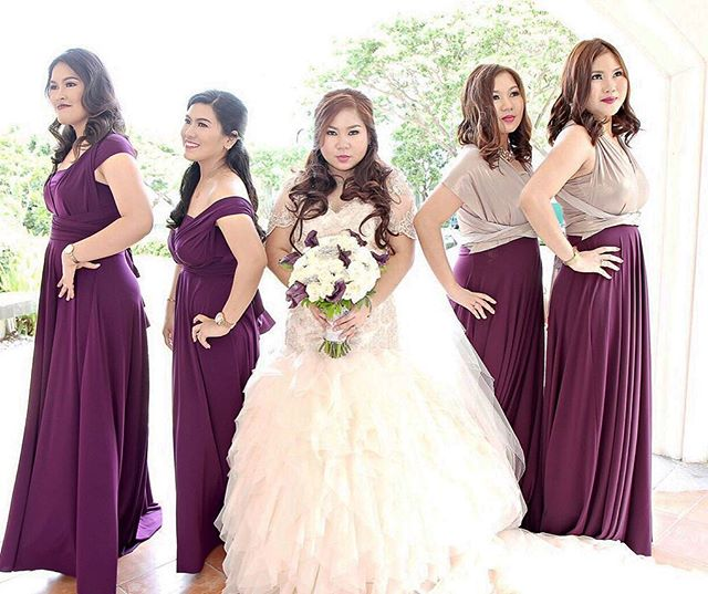 Custom infinity gowns by Love, C; check out _lovecmanilafaqs to view our rates and other details!