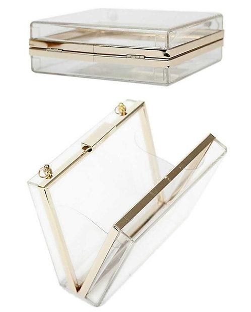 Transparent Acrylic Clutch Bag