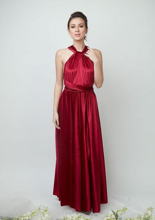 Velvet Infinity Gown