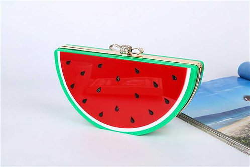 Watermelon Acrylic Clutch Bag