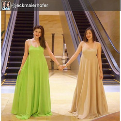My favorite girls wearing our Lucia dresses (previously named Faye) 😍 thank you _jeckmaierhofer and