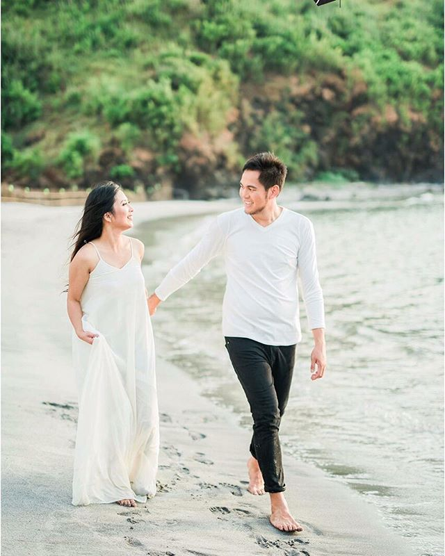 This prenup photo is just breathtaking, perfect couple indeed! Thank you _ynohanna for sharing us yo