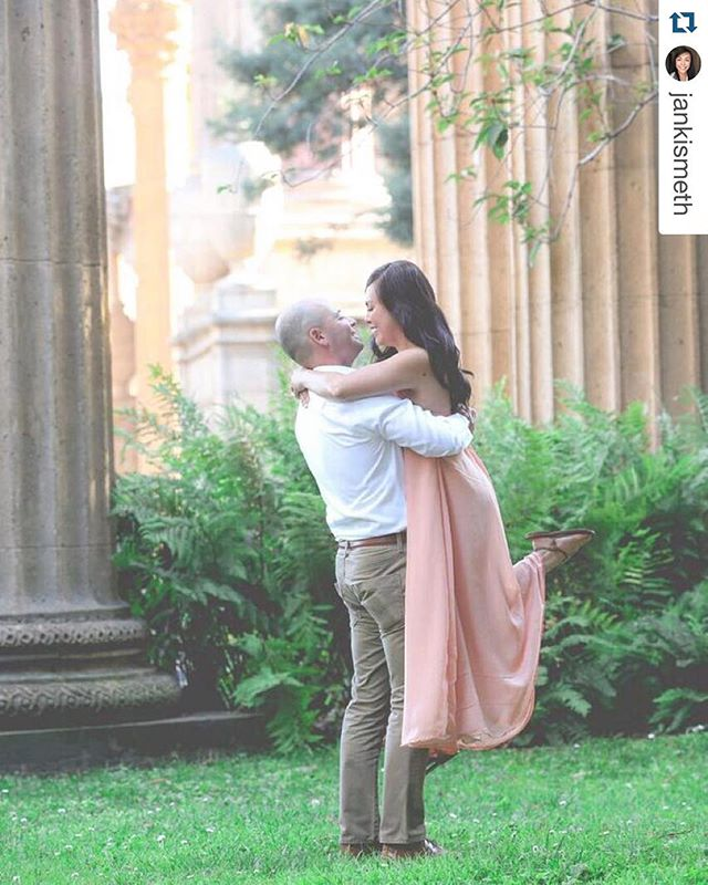 Lovely couple!!! Thank you for tagging us _jankismeth (gown by #loveCmanila) #mayforever 😍 #Repost
