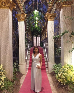 Gorgeous ms. Cai wore our infinity dress and styled it with knotted strap. So lovely!😍 thank you fo
