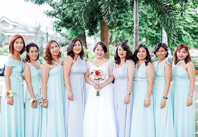 What's not perfect with these light pastel colors 😍 thanks to the beautiful bride _sarahtpatron for