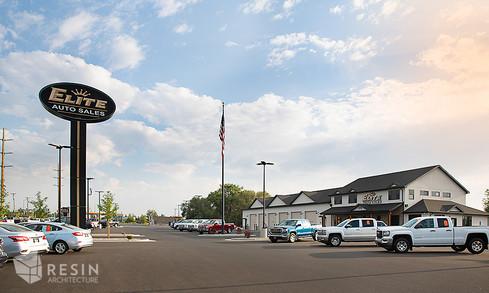 Exterior image of Elite Auto Sales in Idaho Falls.