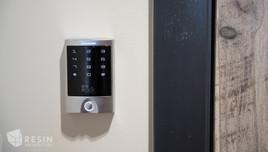 Access control keypad at Idaho Falls Pediatrics.