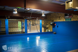 Gym 22 upstairs blue padded area