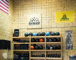 Gym 22 kettle bell storage