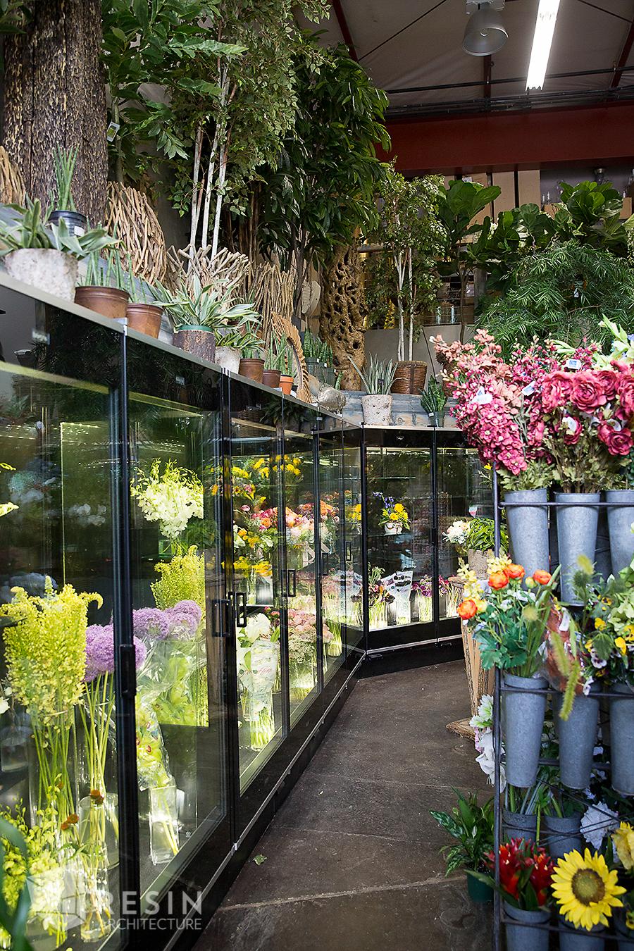 Floral Art interior refrigerators