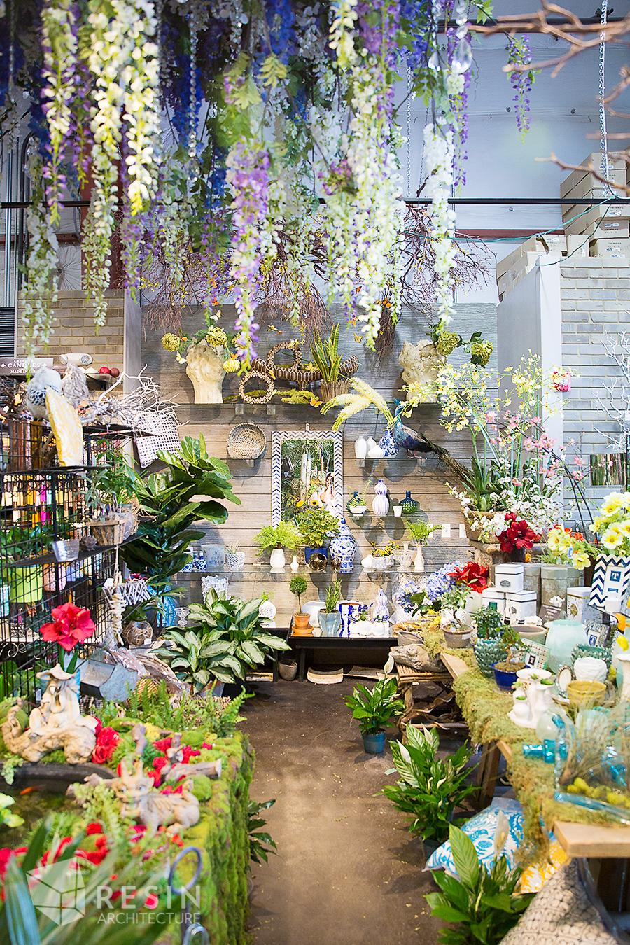 Floral Art Interior