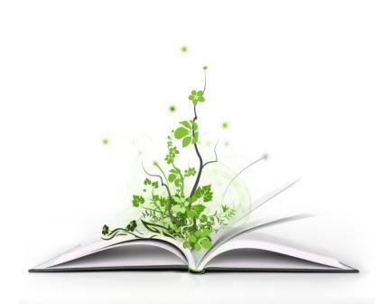 libro con arbol