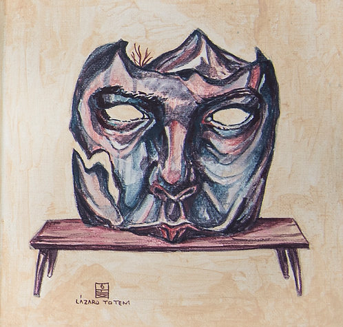 Artista: Lázaro Totem - Obra: Sin título