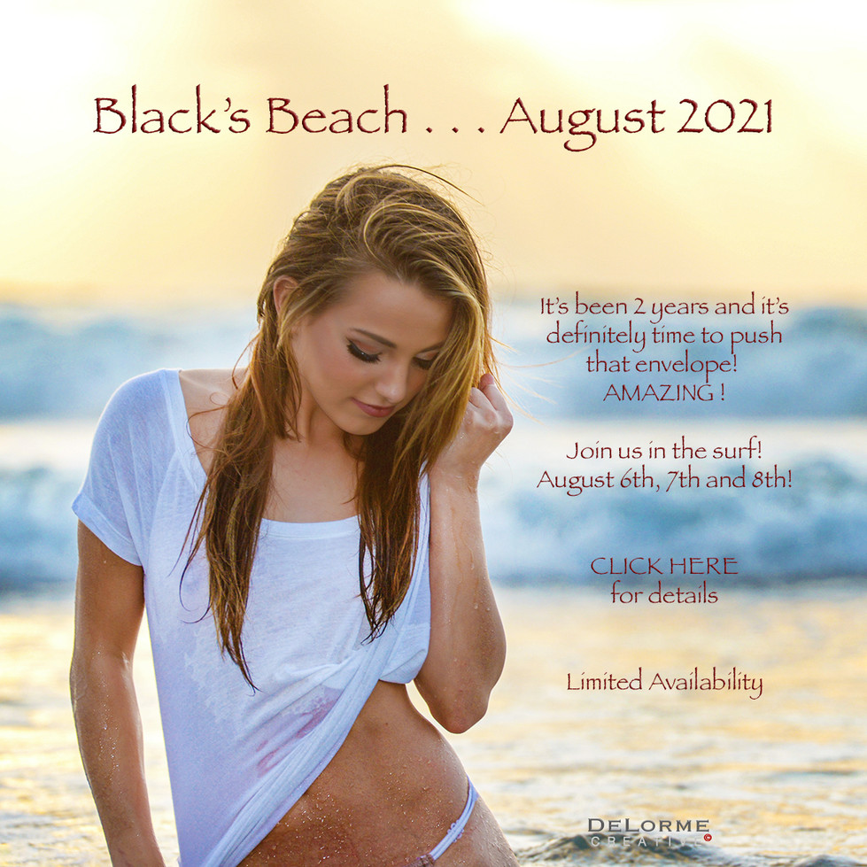 Black's Beach 2021 Cover