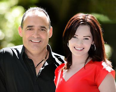 Jeph and Amanda DeLorme portrait photograph