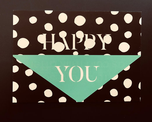 Happy You - Postkarte