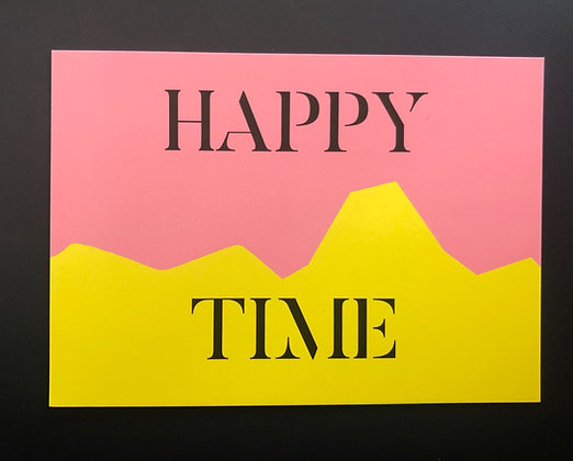 Happy Time- Postkarte