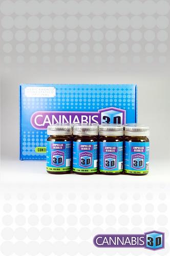 Ampollas Bebibles Cannabis 3D