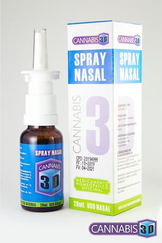 Spray Nasal Cannabis 3D