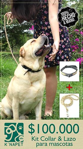 Kit mascotas (lazo + collar) EAS